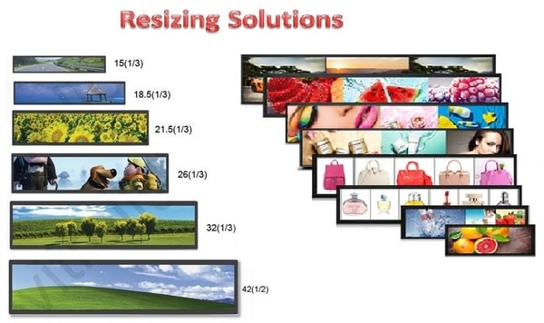 Resizing Panel & Touch and Customized Chassis Solutions